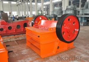 Jaw Crusher for 0-40mm Stone for Road Construction