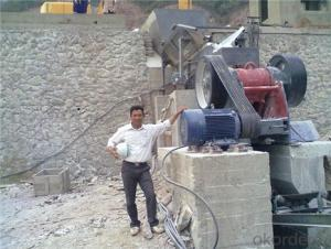 Jaw Crusher for Dolomite Crushing for Ceramic Material