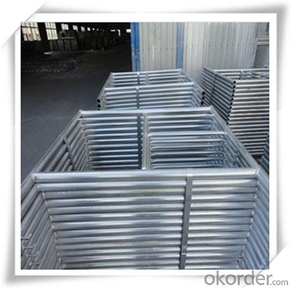 Hot Dip Galvanized H Frame Scaffolding 1219*914*42*2.0 CNBM