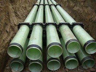 GRP FRP pipes sea water pipe series DN 32