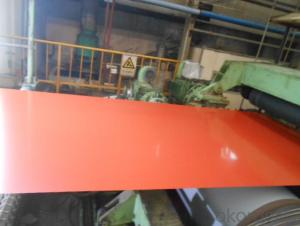 PPGI,Pre-Painted Steel Coil Prime Quality in Red Color
