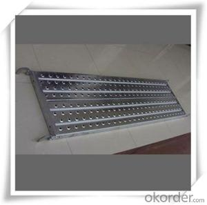 ​Hot Dip Galvanized Steel Plank Catwalk 420*45*1.2*1829  CNBM