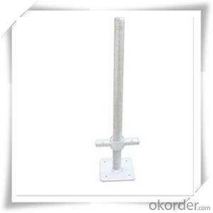 Painted Solid Base Jack M32x600MM/120x120x4mm CNBM