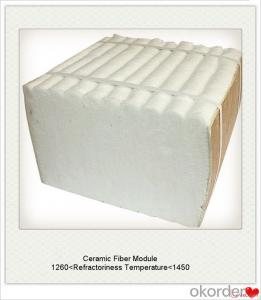 Ceramic Fiber Module Blown Insulation have Achor System for Furnace and Kiln