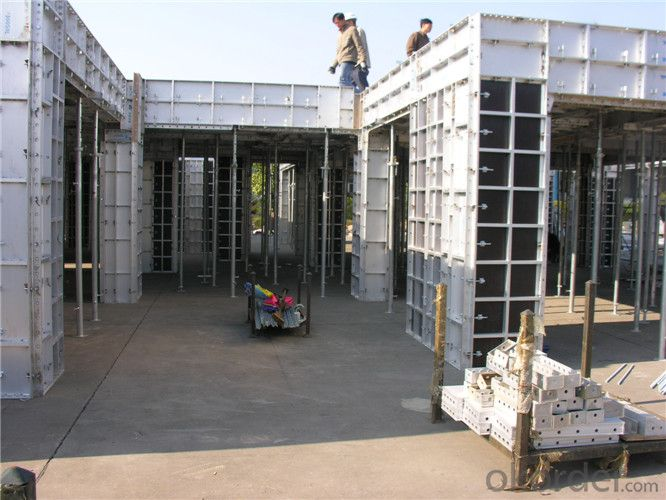 Aluminum Formwork for Concrete Floor and Stairs