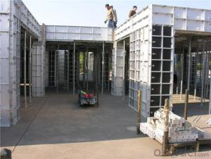 Concrete Pouring Aluminum Formwork System For Walls