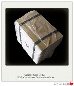 Ceramic Fiber Veneering Module Low Thermal Conductivity