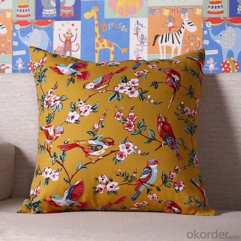 Fashion Pillow Cushion Cover with Digital Printing from China Manufacturer