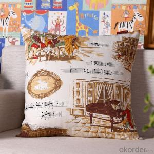 Handmade Pillow Cushion Case with Digital Printing for Decoration from China Factory