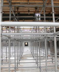 Layher Speedy Scaffolding System with AS/NZ 1576 standard CNBM