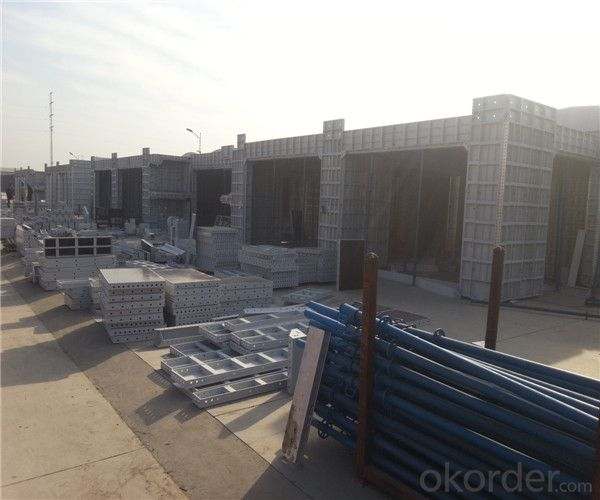 Aluminum Formwork with OEM & ODM With Long Using Lifetime