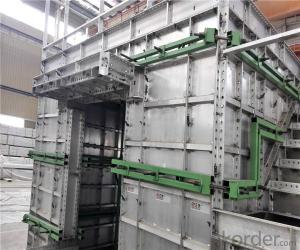 Recycled Use Concrete Aluminum Wall Formwork