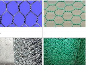 Galvanized Hexagonal Wire Netting Before Weaving