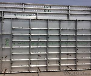 Aluminum Formwork for Better Concrete Shape with Strong Force