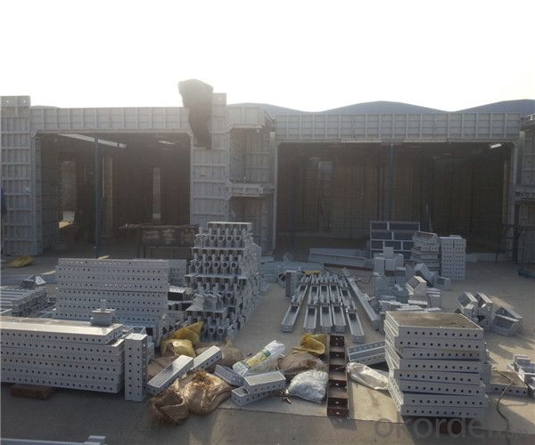 Aluminum Formwork with 6061-T6 Aluminum Alloy With Superior Quality