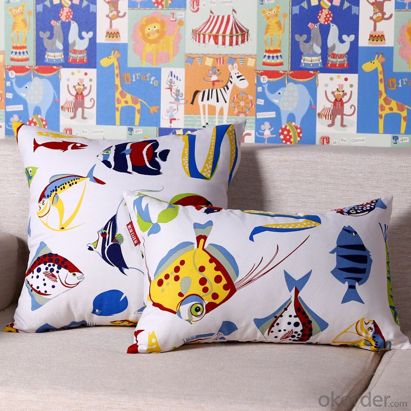 Fashion Pillow Cushion Cover with Newest Design and Be Made of Polyester