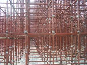 Cup Lock  Scaffolding System with Painting