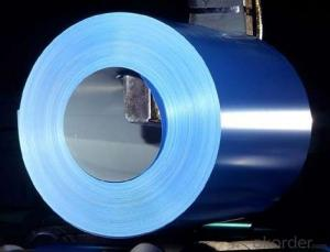 PPGI Color Coated Galvanized Steel Coil  Blue Color Prime Quality