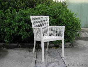 Outdoor UV and water resistance Rattan Chair with Aluminum Tube
