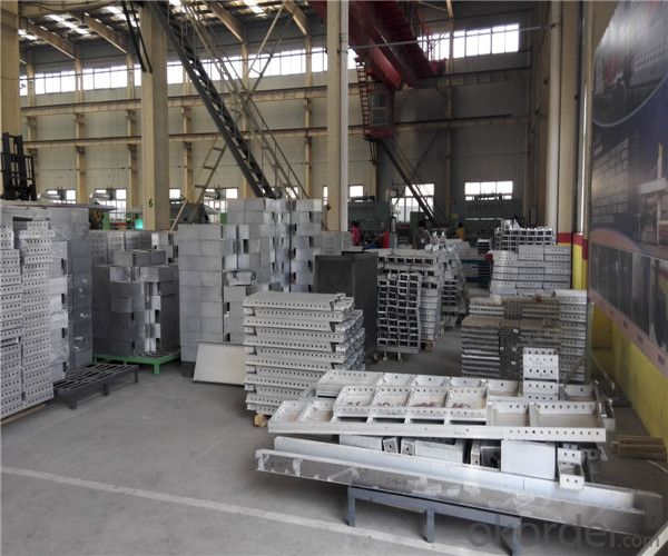 Aluminum Formwork for Reusable with Stock Available