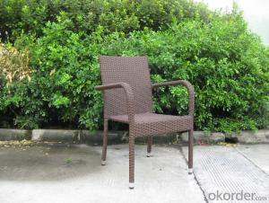 Outdoor Water Proof Garden Chair with Aluminum Tube