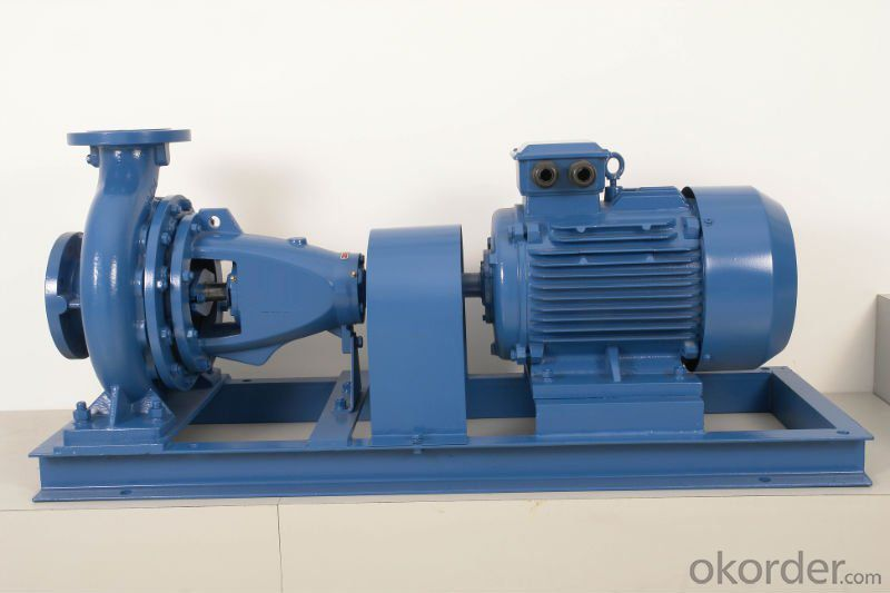 End Suction Centrifugal Horizontl Water Pump