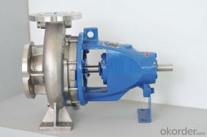 DIN Standard Horizontal End Suction Water Pump for Water Circulation