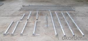 Aluminium Ringlock Scaffolding System in layher size CNBM