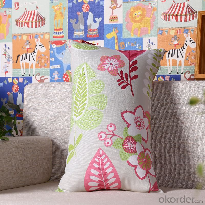 Fashion Pillow Cushion Cover with Digital Printing and Long Shape for Sofa
