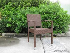 Outdoor Viro Wicker Garden Chair with 1.2-1.5mm thickness Frame