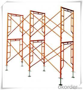 Flip Lock Series Frame Scaffolding with Steel Q235 Q345 CNBM