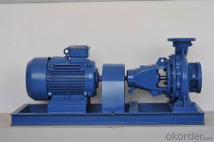 End Suction Centrifugal Water Pump for Water Irrigation