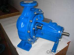 DIN Standard Horizontal Centrifugal End Suction Water Pump