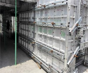 High Concrete Pouring Rate Aluminum formwork