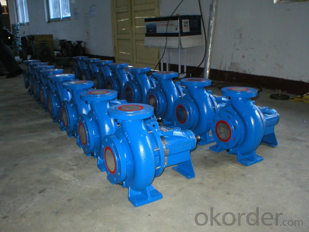 DIN Standard Horizontal End Suction Water Pump for Air Condition