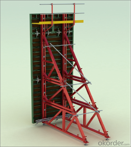 Steel Frame Formworks Used in Different  Kinds of Construction