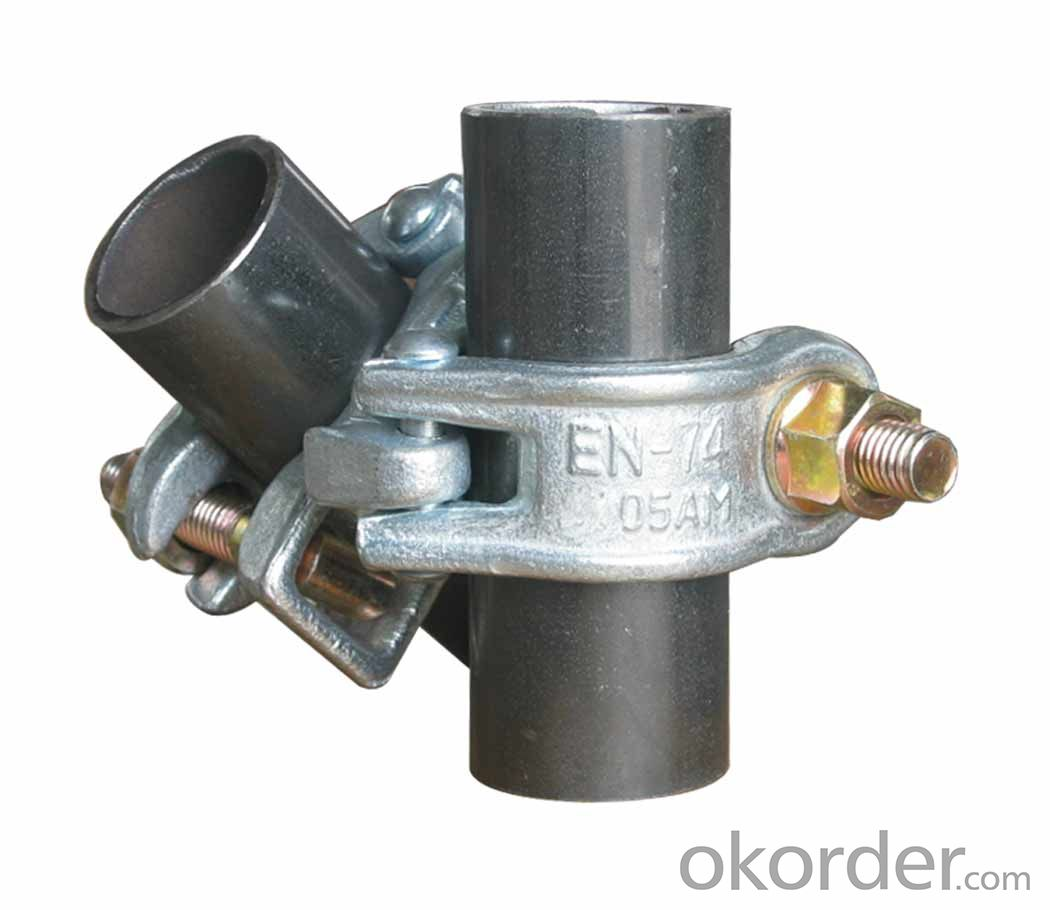 Steel Pipe Fixed Scaffolding Clamp british German Forged Type