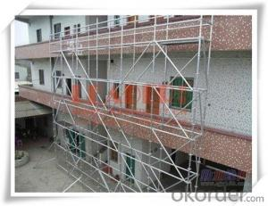 Steel Ringlock Scaffolding Ledger  with Q345 ,Q235, Q195 Steel  CNBM
