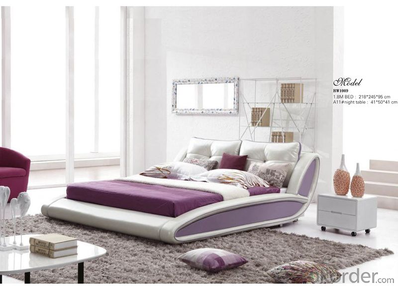 Bedroom Furniture Soft Bed of High Quality Material