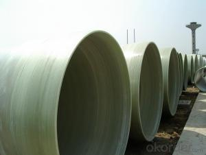 FRP Pipe Fiberglass Reinforced Plastic Pipe for  Sewage Water