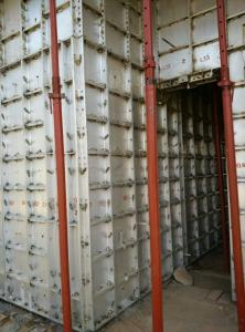 Cheap Recycled Aluminium Wall Panel Formwork System