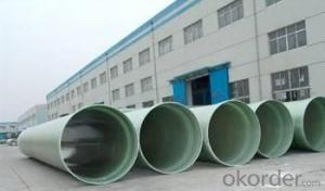 FRP Pipe Fiberglass Reinforced Plastic Pipe for Water Treatment