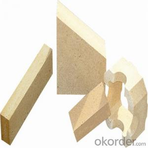 Fireclay Brick Al2O3 58-60 Used in Glass Furnace
