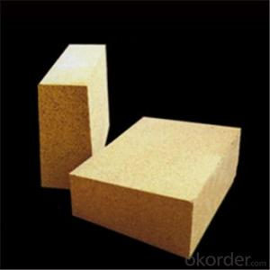 Refractory Low Porosity Fireclay Brick for Glass Furnace