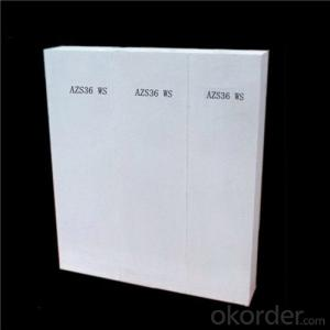 AZS Brick for Glass Furnace / Fused Cast Zirconia Alumina Brick