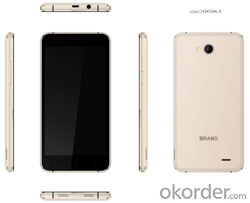 5 Inch Mtk6735 Quad Core 4G Lte Smartphone