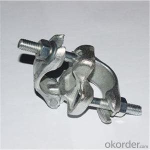 British Drop Forged Double Coupler for Scaffolding Q235 Q345 CNBM