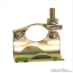 Pressed Single Coupler  Putlog Coupler for Scaffolding Q235 BS1139 Standard CNBM