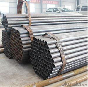 Black Scaffolding Tube 48.3*4.0 Q235 Steel Standard EN39/BS1139 for Sale CNBM