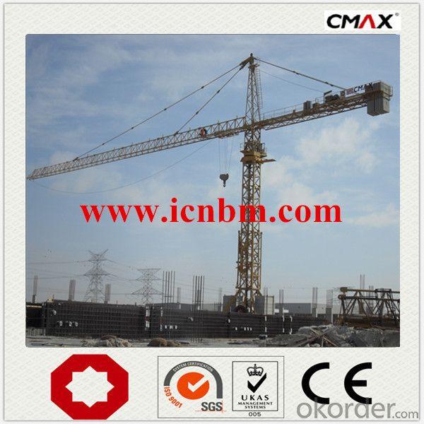 6 Ton Tower Crane Cheap Price Manufacturer